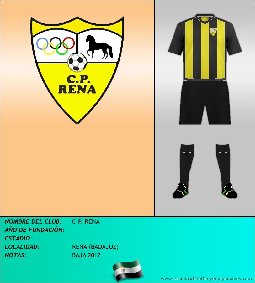 Escudo de C.P. RENA