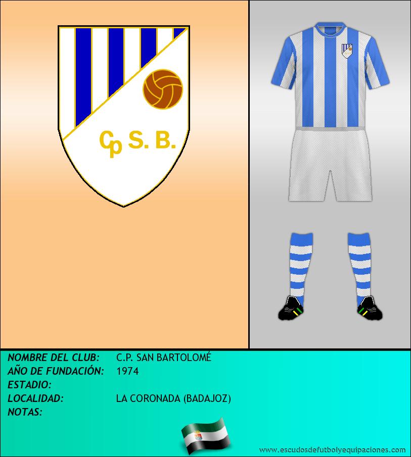 Escudo de C.P. SAN BARTOLOMÉ