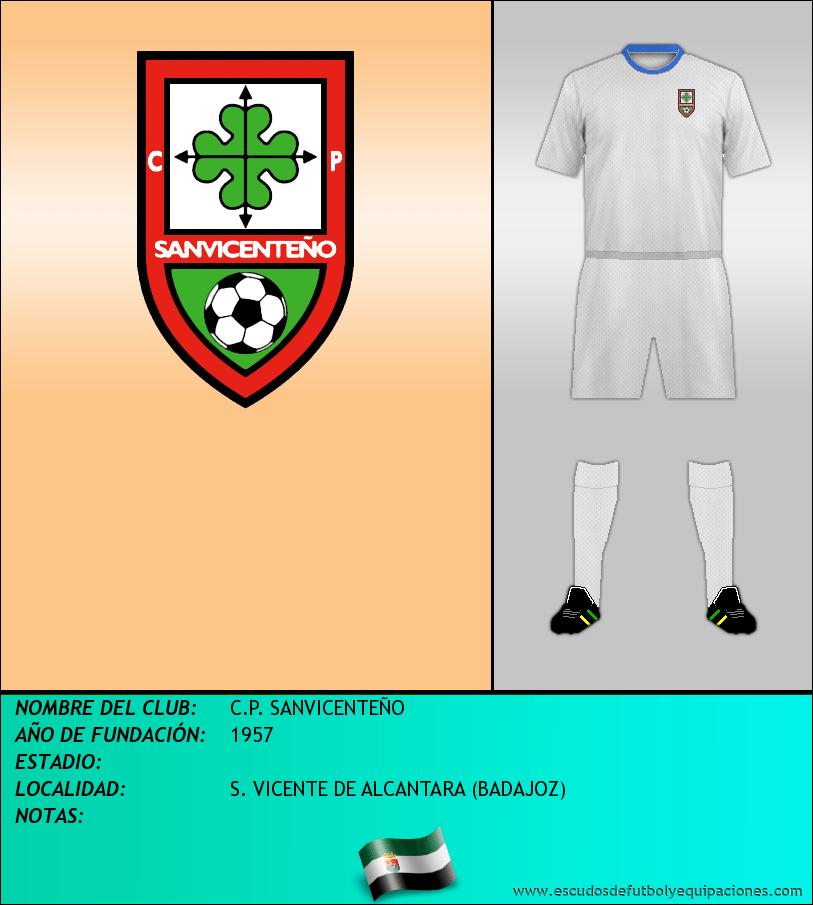 Escudo de C.P. SANVICENTEÑO