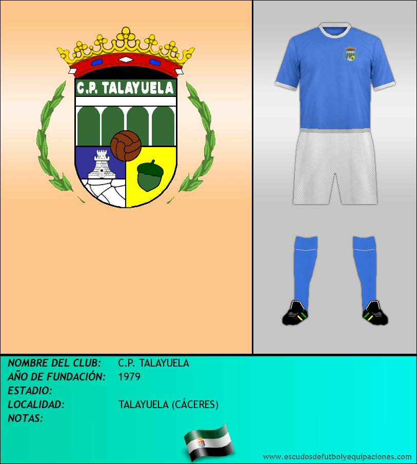Escudo de C.P. TALAYUELA