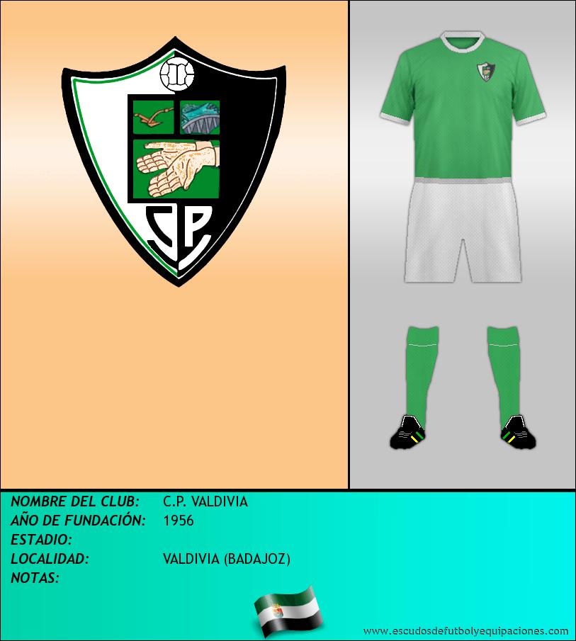 Escudo de C.P. VALDIVIA