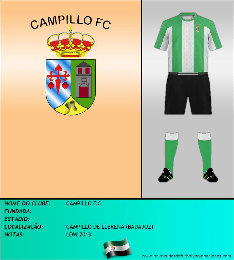Escudo de CAMPILLO F.C.
