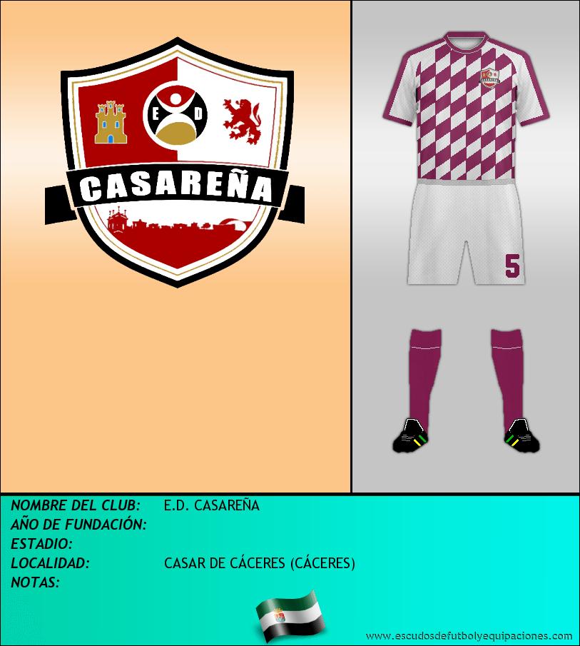 Escudo de E.D. CASAREÑA
