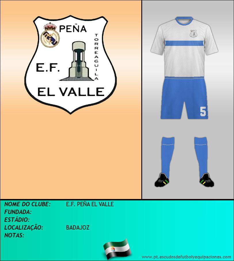 Escudo de E.F. PEÑA EL VALLE