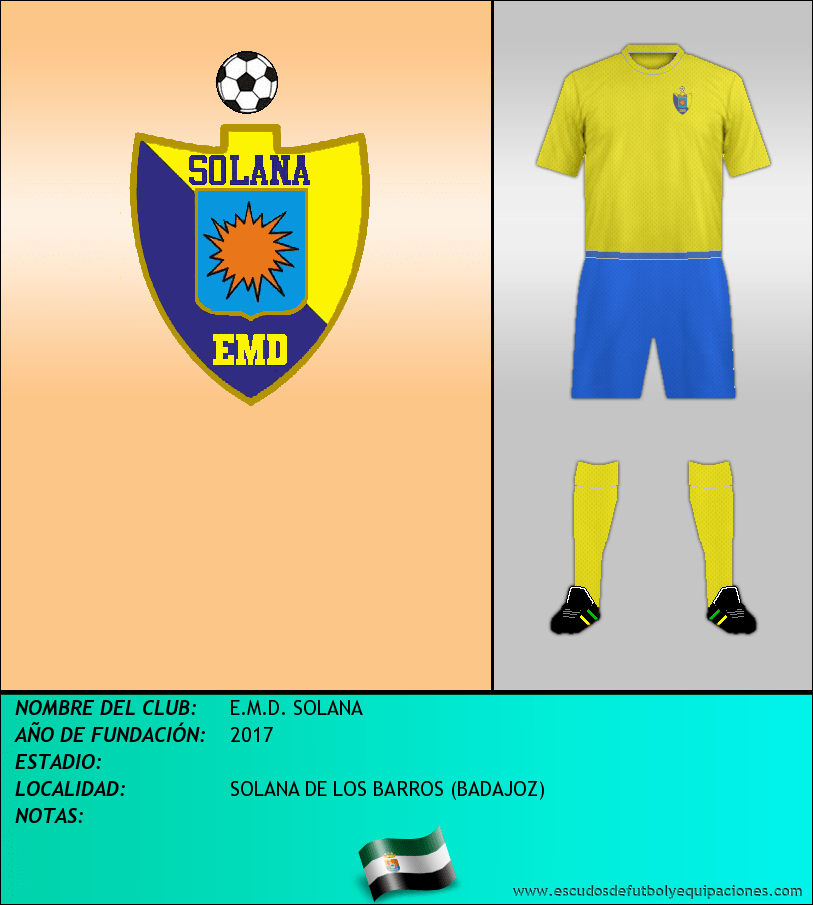 Escudo de E.M.D. SOLANA