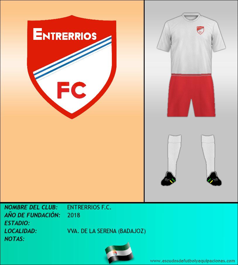 Escudo de ENTRERRIOS F.C.