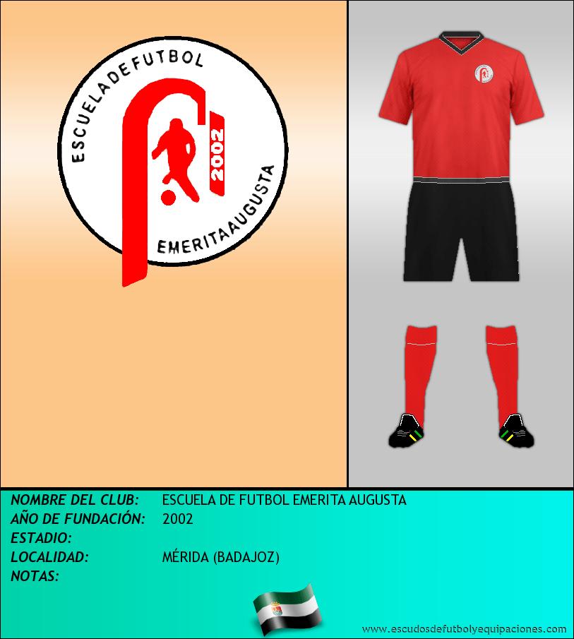 Escudo de ESCUELA DE FUTBOL EMERITA AUGUSTA