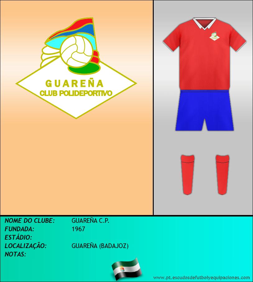 Escudo de GUAREÑA C.P.