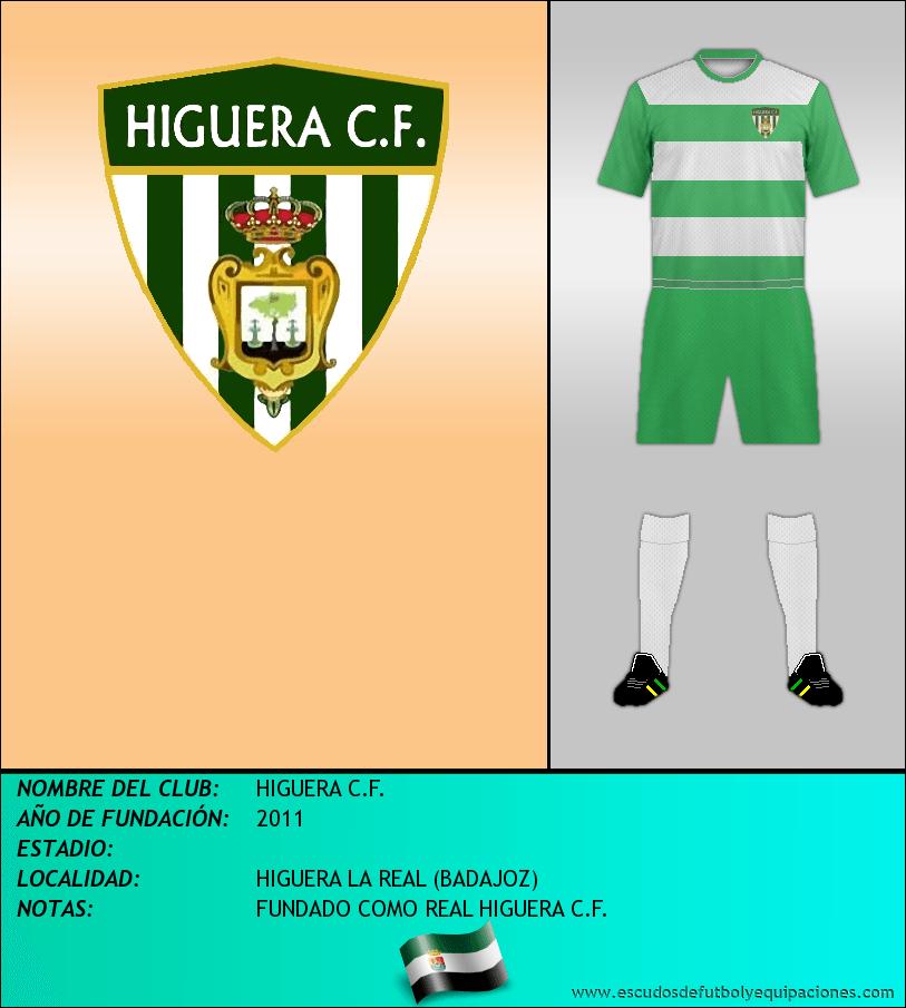 Escudo de HIGUERA C.F.