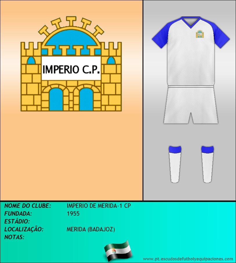 Escudo de IMPERIO DE MERIDA-1 CP