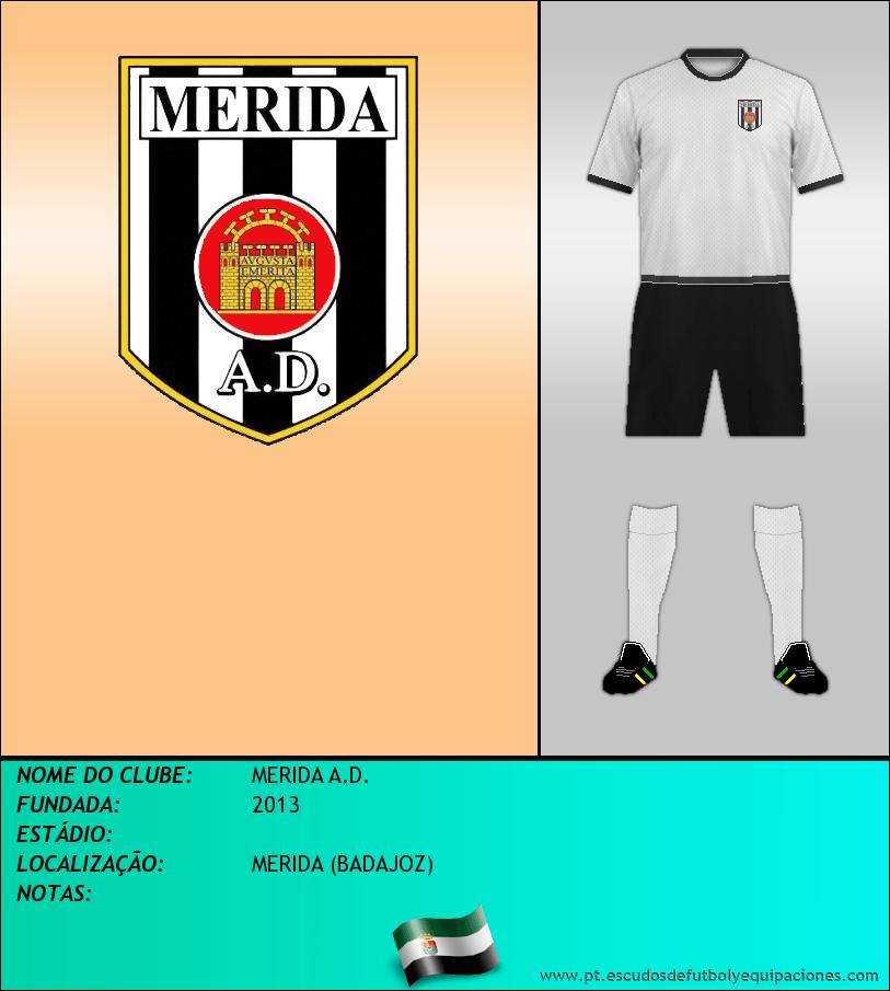 Escudo de MERIDA A.D.