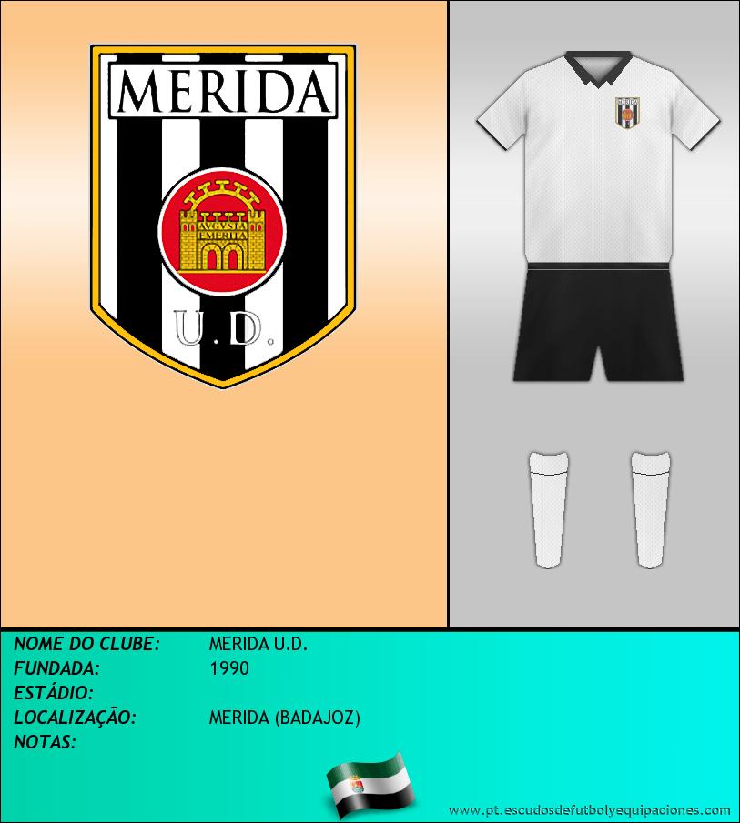 Escudo de MERIDA U.D.