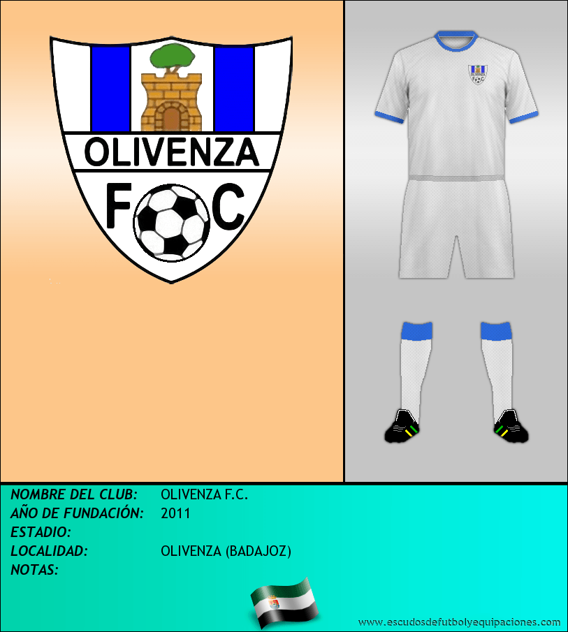 Escudo de OLIVENZA F.C.
