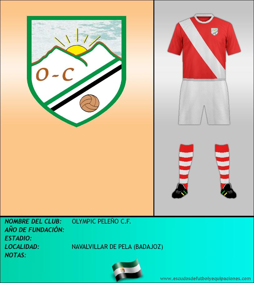 Escudo de OLYMPIC PELEÑO C.F.