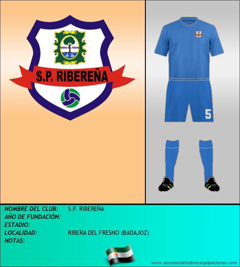 Escudo de S.P. RIBEREÑA