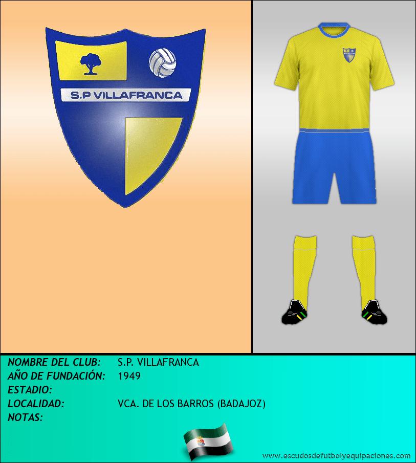 Escudo de S.P. VILLAFRANCA
