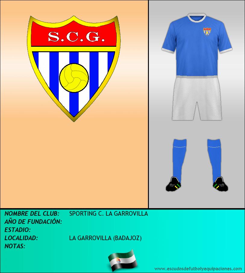 Escudo de SPORTING C. LA GARROVILLA