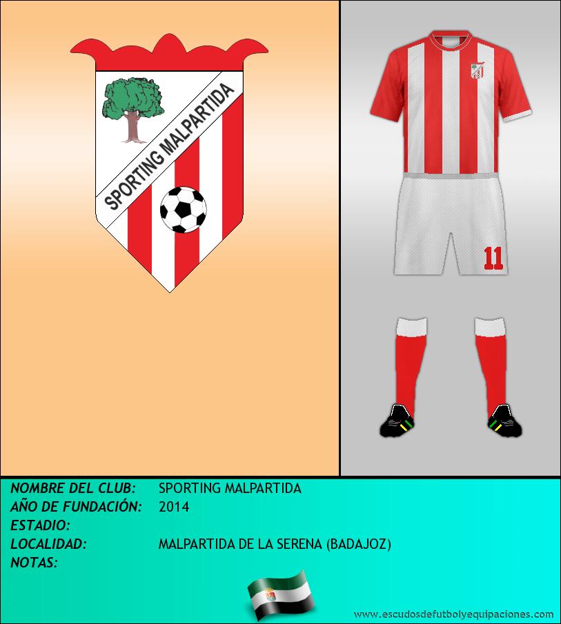 Escudo de SPORTING MALPARTIDA