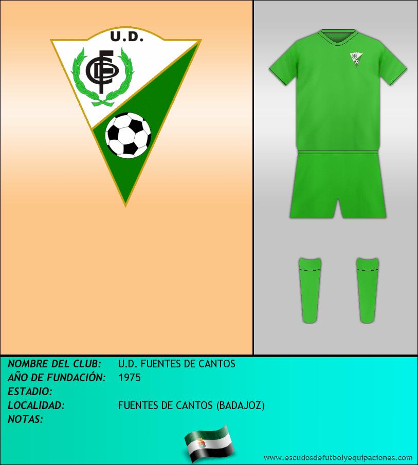 Escudo de U.D. FUENTES DE CANTOS