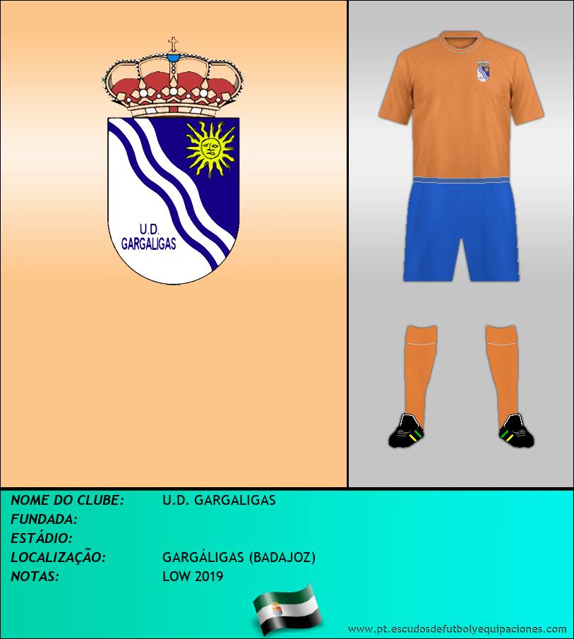 Escudo de U.D. GARGALIGAS