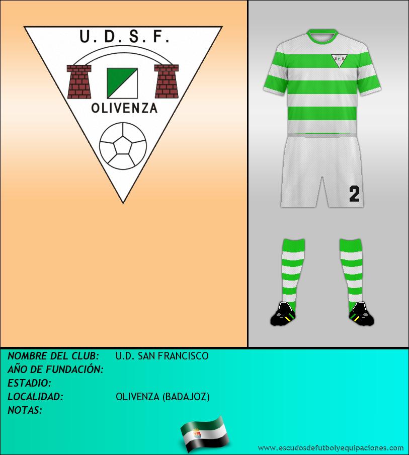 Escudo de U.D. SAN FRANCISCO