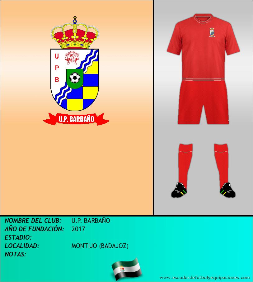 Escudo de U.P. BARBAÑO
