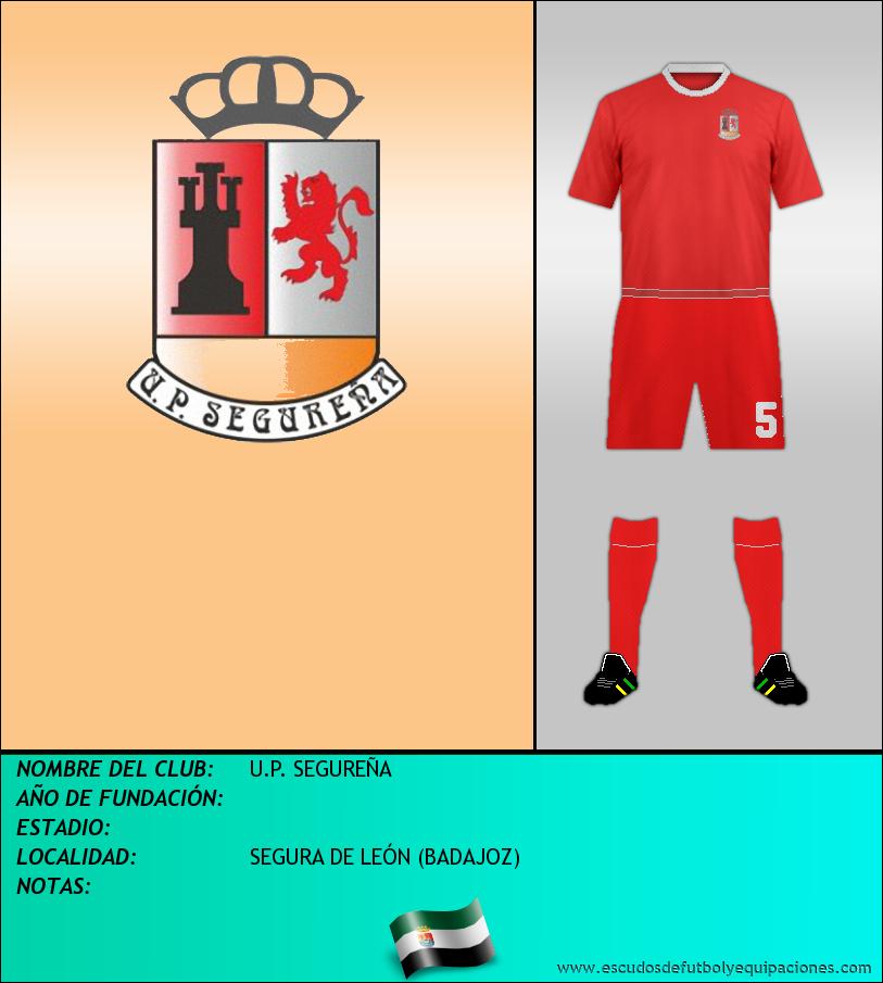 Escudo de U.P. SEGUREÑA