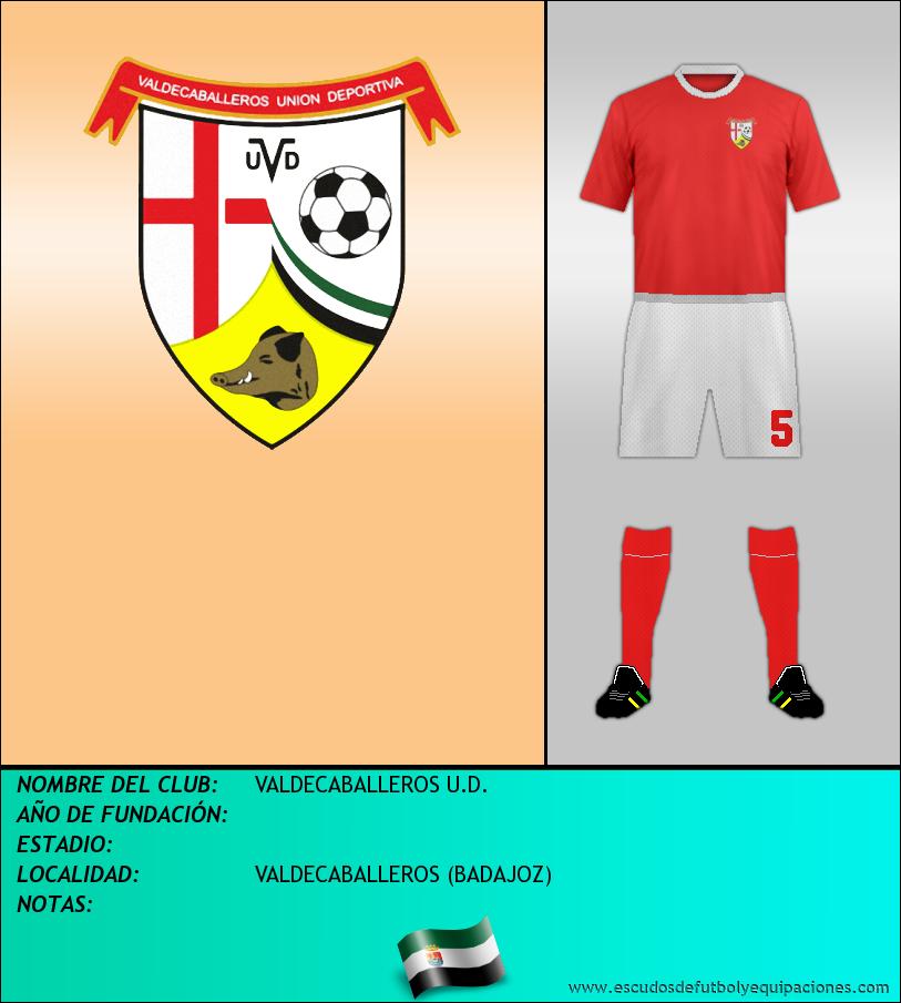 Escudo de VALDECABALLEROS U.D.