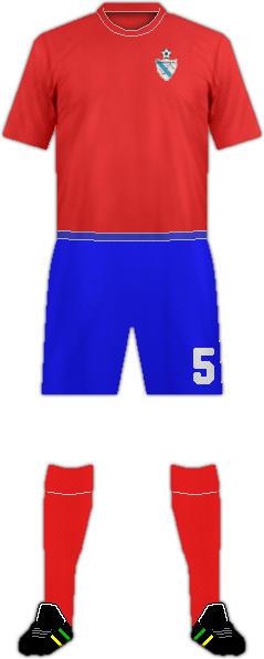 Equipación FRANCELOS F.C.