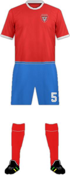Camiseta SIGÜERO F.C.