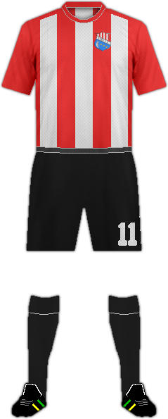 Equipación TYDE F.C.