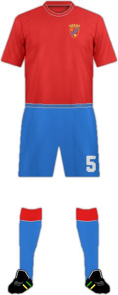 Camiseta UNIÓN CAMPESTRE F.C.