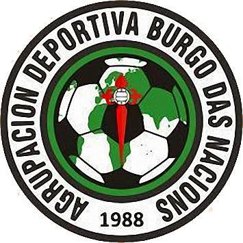 Escudo de A.D. BURGO DAS NACIONS (GALICIA)