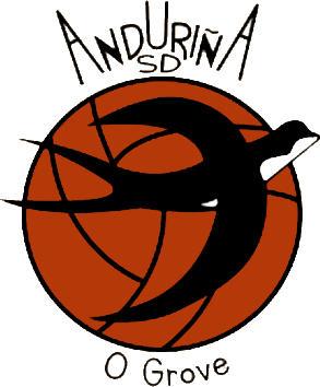 Escudo de ANDURIÑA S.D. (GALICIA)