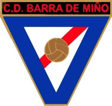 Escudo de C.D. BARRA DE MIÑO (GALICIA)