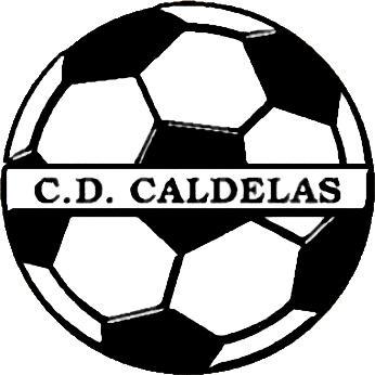 Escudo de C.D. CALDELAS (GALICIA)