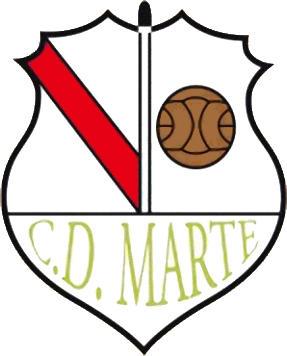 Escudo de C.D. MARTE (GALIZA)