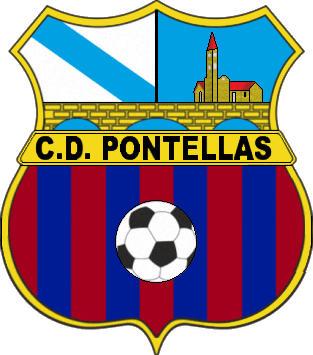 Escudo de C.D. PONTELLAS (GALICIA)