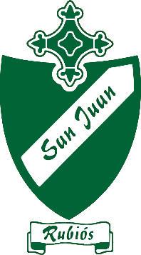 Escudo de C.D. SAN JUAN DE RUBIÓS (2) (GALICIA)