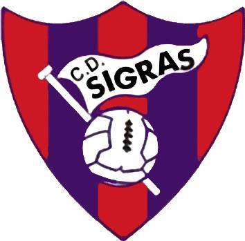 Escudo de C.D. SIGRÁS (GALICIA)