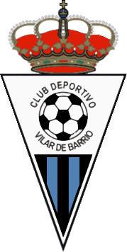 Escudo de C.D. VILAR DE BARRIO (GALIZA)