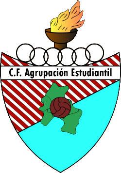 Escudo de C.F. AGRUPACIÓN ESTUDIANTIL (GALICIA)