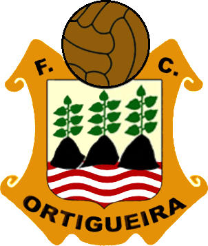 Escudo de F.C. ORTIGUEIRA (GALICIA)