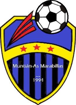 Escudo de MUNTIAN-AS MARAVILLAS C.F. (GALICIA)