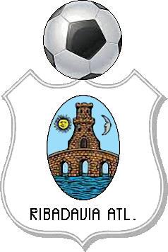 Escudo de RIBADAVIA ATLÉTICO (GALICIA)