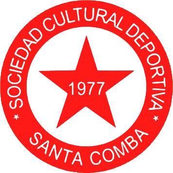 Escudo de S.C.D. SANTA COMBA (GALICIA)