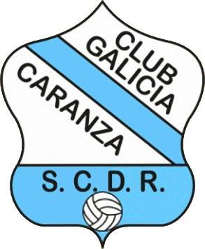 Escudo de S.C.D.R. GALICIA DE CARANZA (GALIZA)