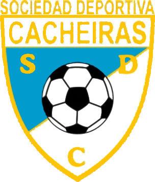 Escudo de S.D. CACHEIRAS (GALICIA)