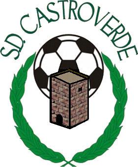 Escudo de S.D. CASTROVERDE (GALICIA)