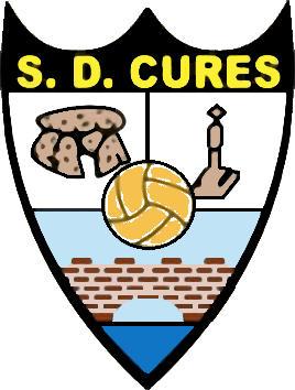 Escudo de S.D. CURES (GALICIA)